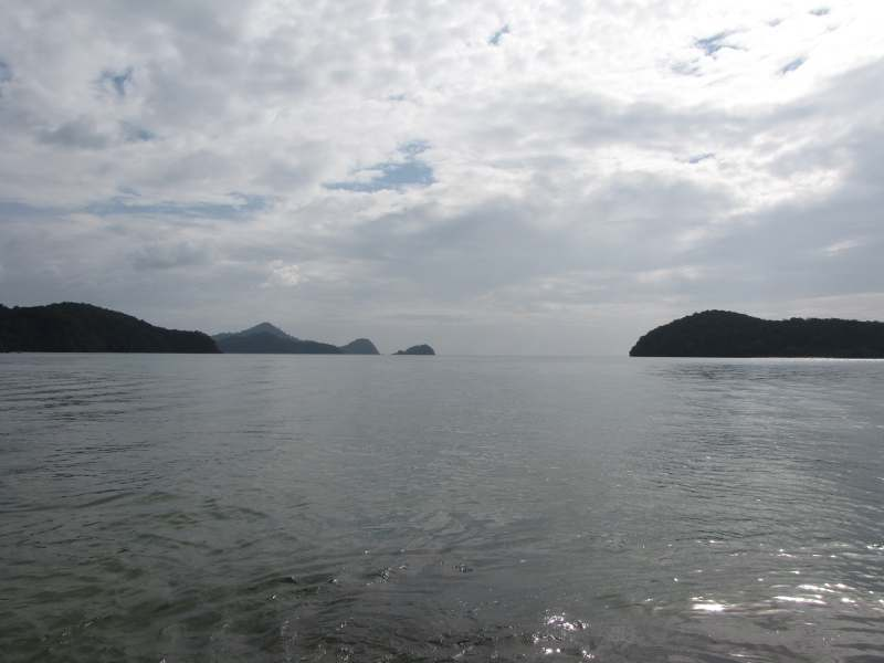 view of the ocean from Langkawi