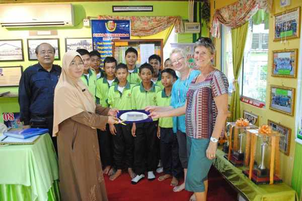 photo of students at Tunku-Putra school