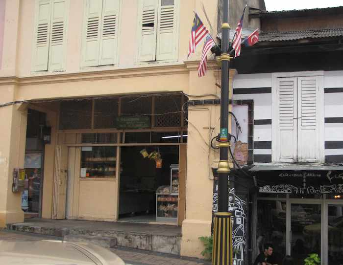photo of the entrance to the bakery