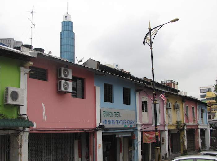 photo of shops in Johor Bahru historic district