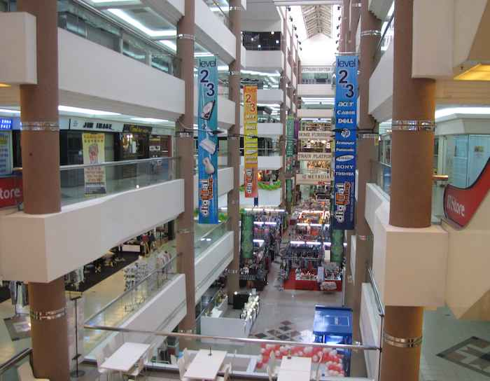View of Inside of Danga City Mall