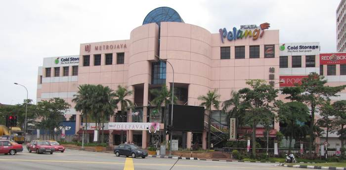 photo of the Plaza Pelangi Mall
