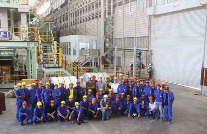 Photo of employees inside Bahru Stainless