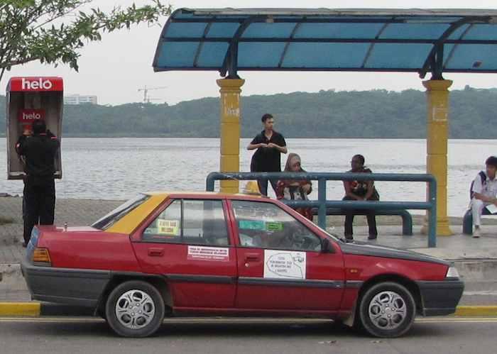 photo of Johor Bahru taxi