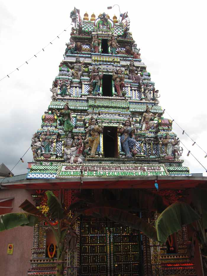 Arulmigu Sri Raja Kallamman Indian Glass Temple