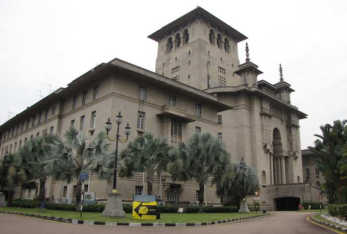 photo of the Bangunan Sultan Ibrahim government building