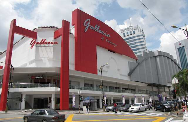 exterior view of the Galleria @ Kotaraya
