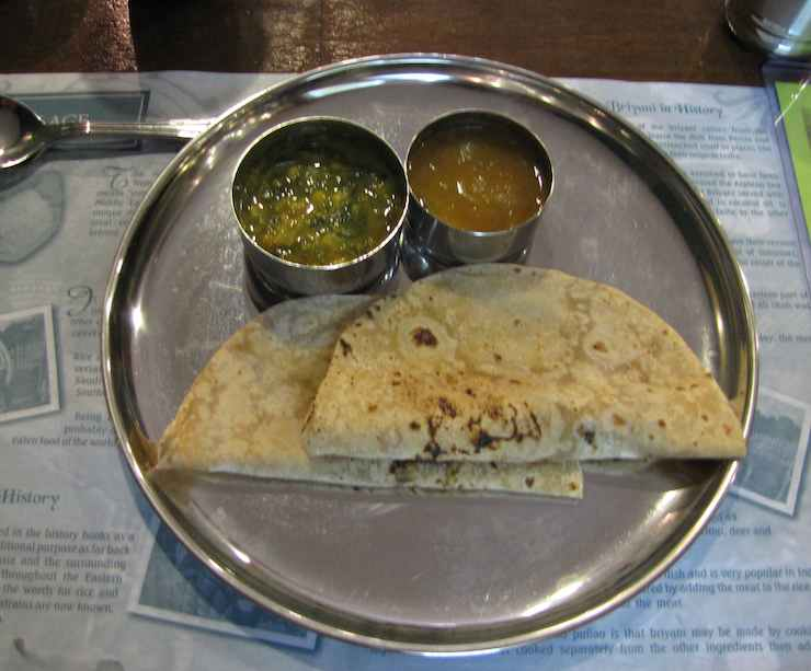 photo of Indian breads