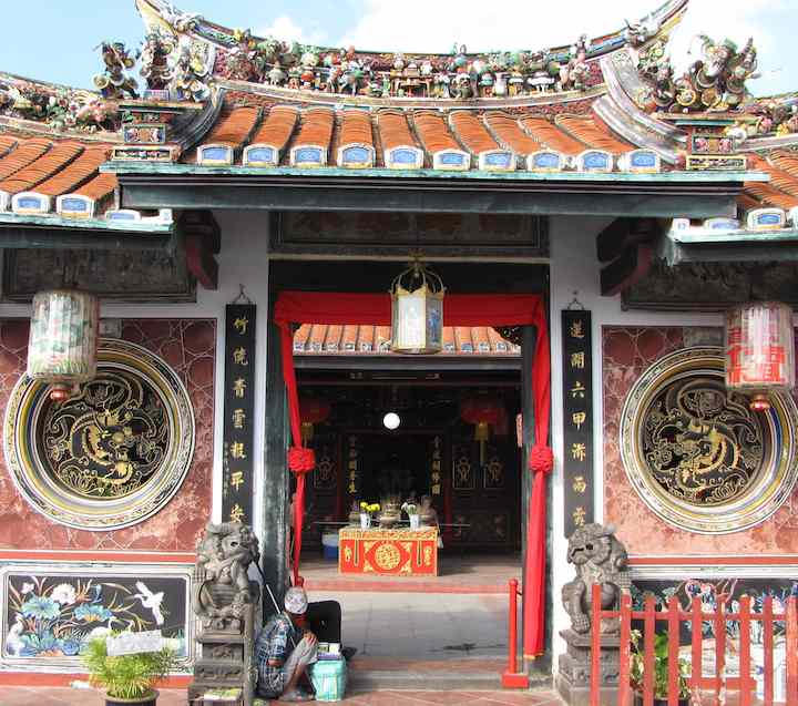 photo of Cheng Hoon Teng temple entrance