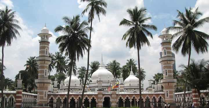 photo of Masjid Jamek in Kuala Lumpur, Malaysia