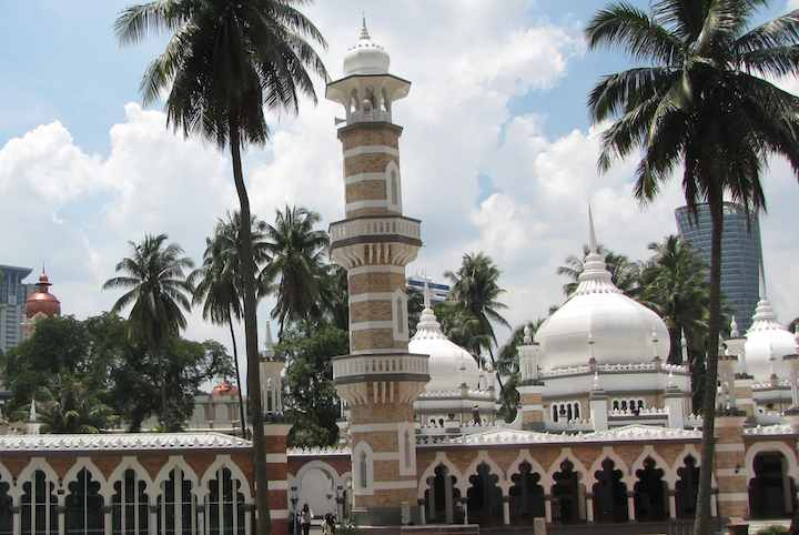 photo of Jamek Mosque in Kuala Lumpur, Malaysia