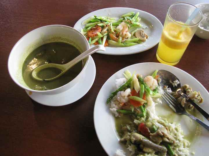 photo of Green Chicken Curry
