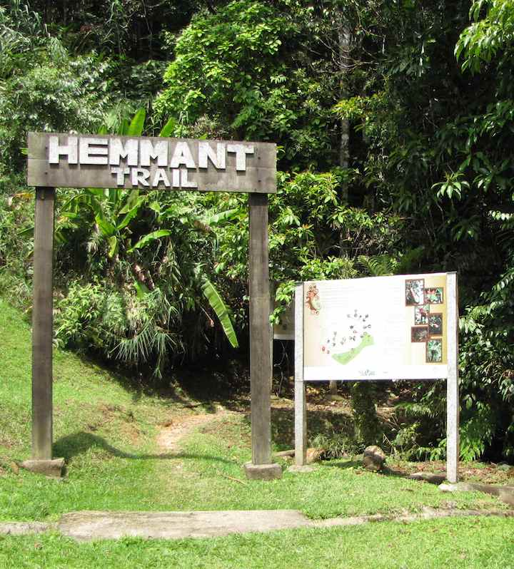 photo of Hemmant Trailhead