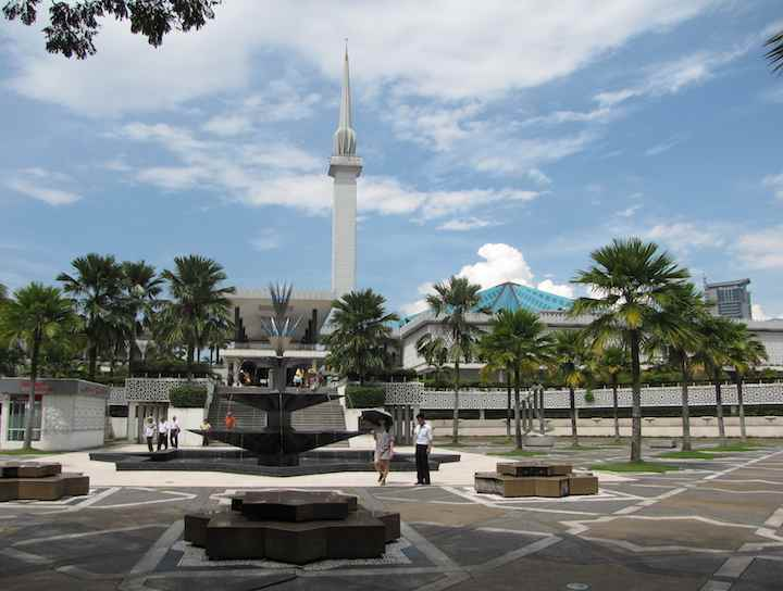 photo of National Mosque in KL Malaysia