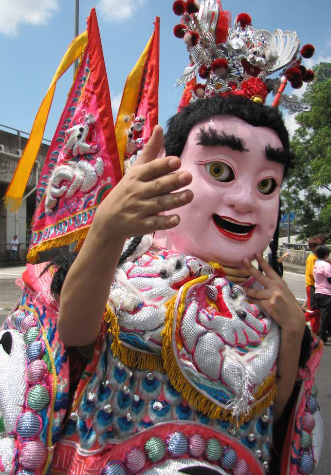 photo of costume at Chingay Parade, Johor Bahru 2013
