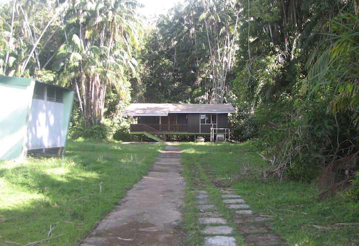 photo of cabin at Bako National Park