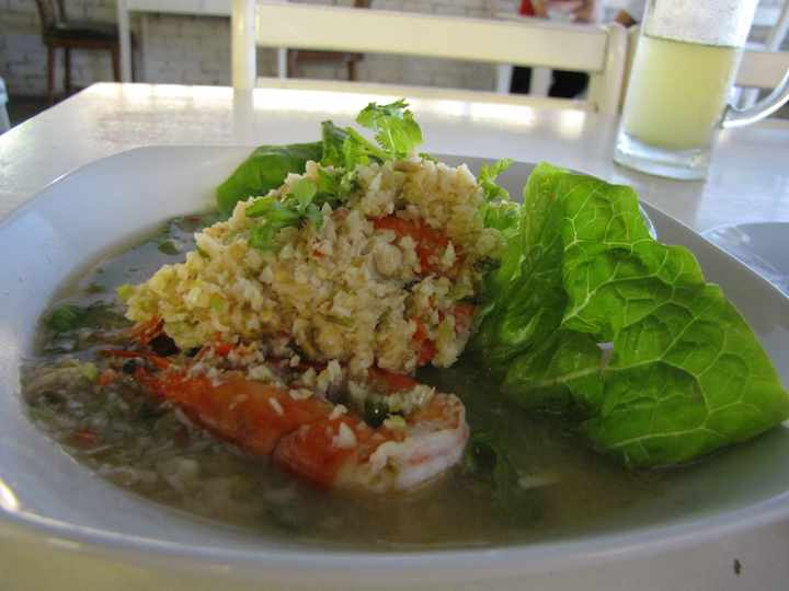 photo of shrimp dish