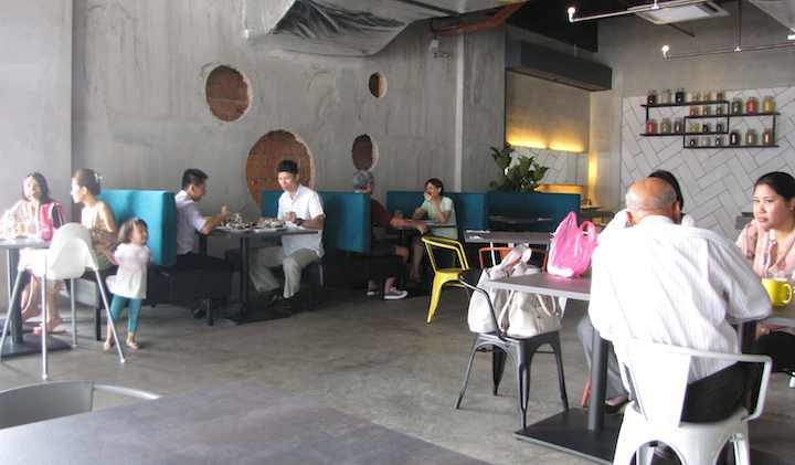 photo of the interior of the Spice Kitchen Indian restaurant