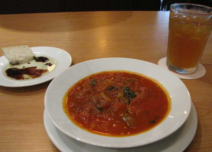 photo of tomato soup