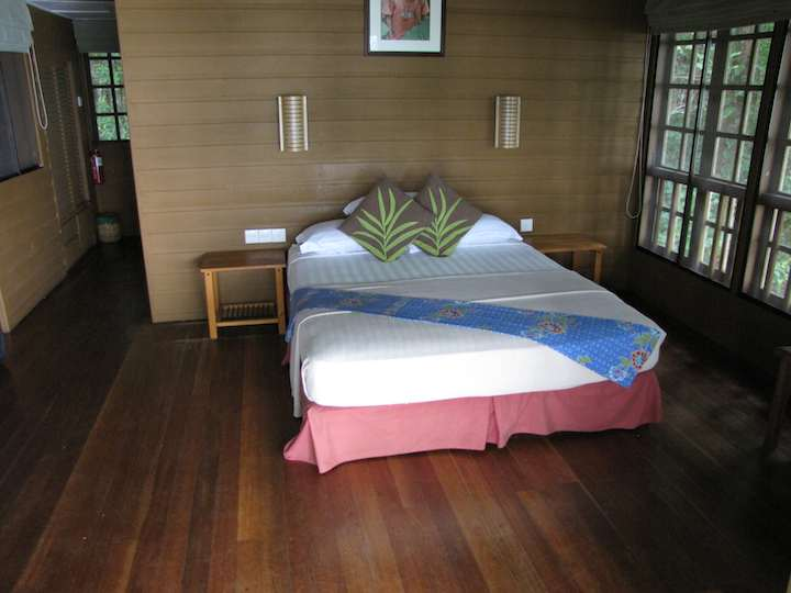 photo inside of the Treetop Cabin, Permai Rainforest Resort