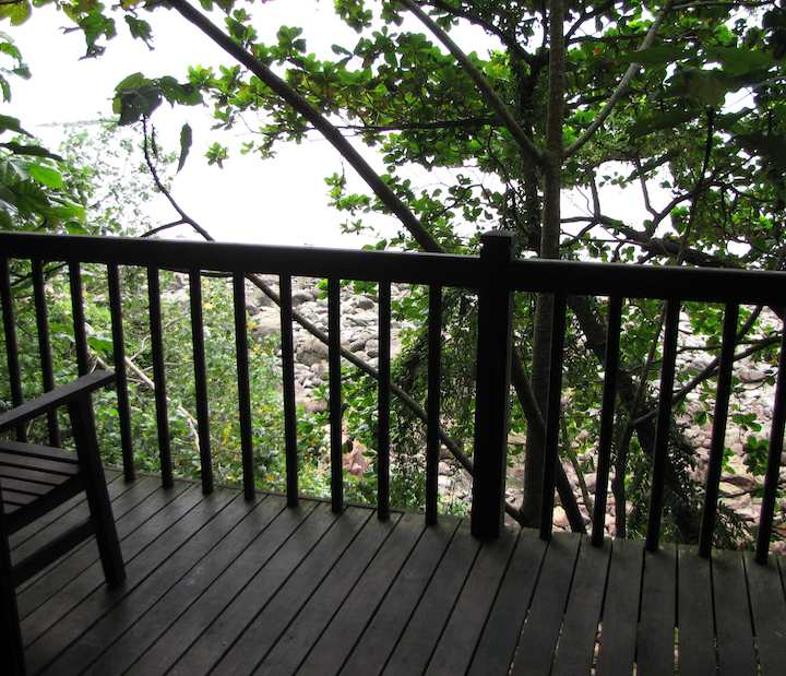 photo from the porch Treetop Cabin, Permai Rainforest Resort