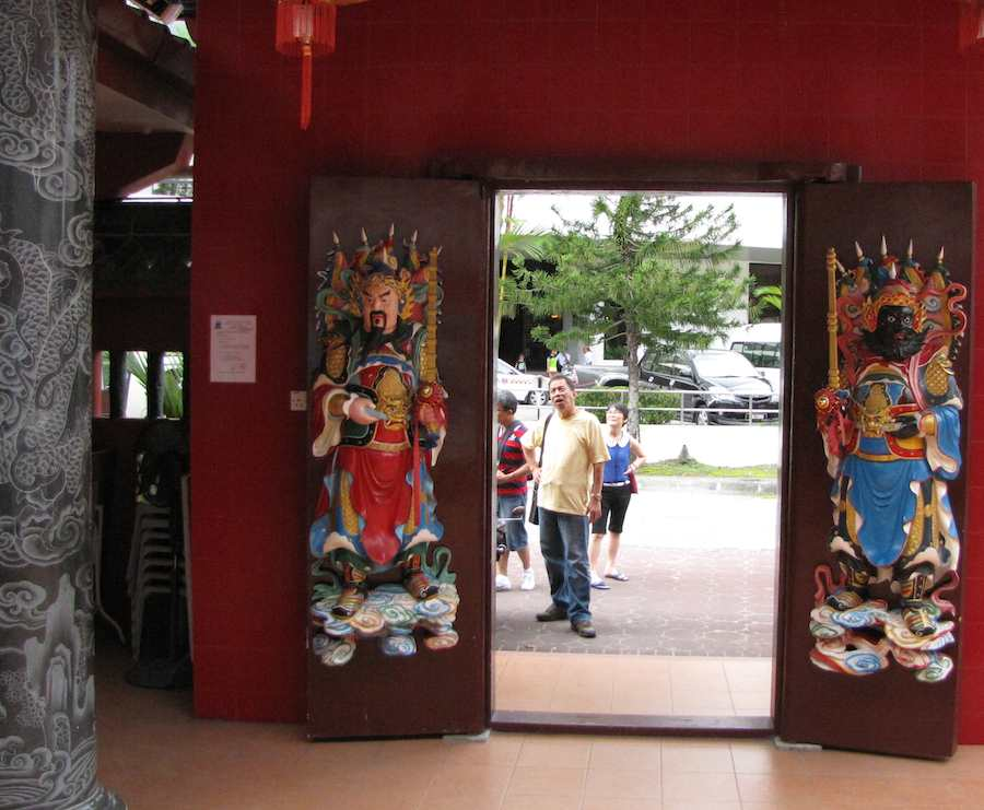 photo of temple doors