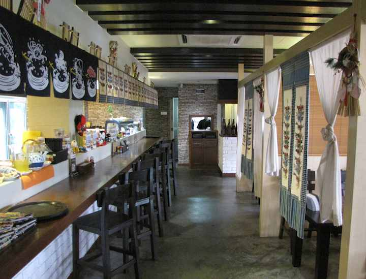 Umatei Restaurant - interior view