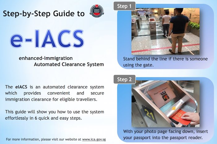 Enhanced Immigration Automated Clearance System (eIACS) brochure